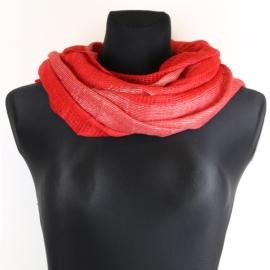 Komin damski - czerwony - WO1179