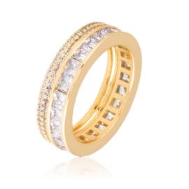 Obrączka z kryształkami - Xuping PP3023
