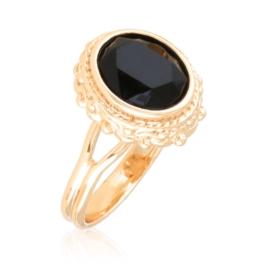 Pierścionek codzienny - czarny - Xuping PP3029