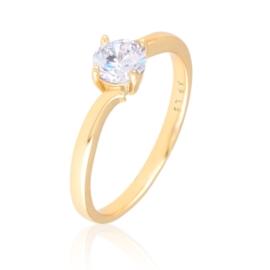 Pierścionek klasyczny zaręczynowy - Xuping PP3030