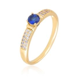 Pierścionek codzienny - niebieski Xuping PP3035