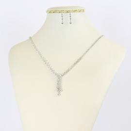 Komplet biżuterii wieczorowej - KOM362
