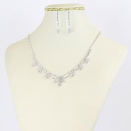 Komplet biżuterii wieczorowej - KOM363