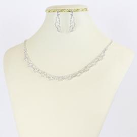 Komplet biżuterii wieczorowej - KOM364