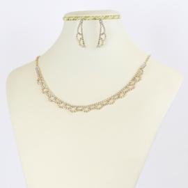 Komplet biżuterii wieczorowej - KOM365