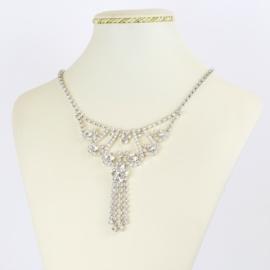 Naszyjnik kryształowa kolia - NA2075