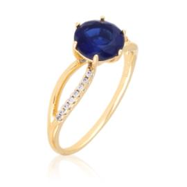 Pierścionek codzienny - niebieski Xuping PP3040