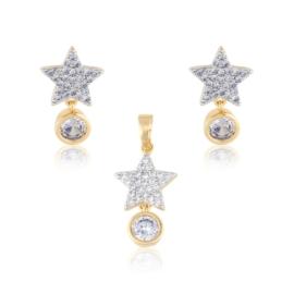 Komplet biżuterii gwiazdki Xuping PK559