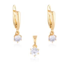 Komplet biżuterii kryształki Xuping PK560