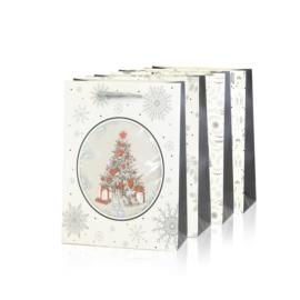 Torebki prezentowe świąteczne 24x20cm 12szt TP580