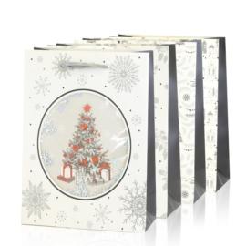 Torebki prezentowe świąteczne 40x30cm 12szt TP582
