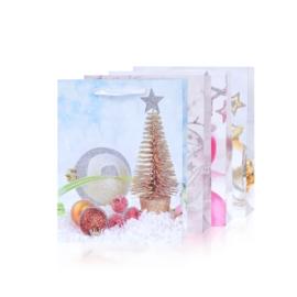Torebki prezentowe świąteczne 23x18cm 12szt TP583
