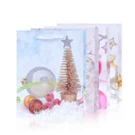Torebki prezentowe świąteczne 32x26cm 12szt TP584