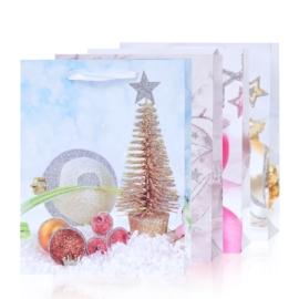 Torebki prezentowe świąteczne 40x31cm 12szt TP585
