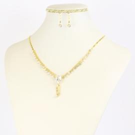 Komplet biżuterii eleganckiej - KOM372