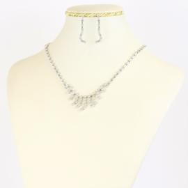 Komplet biżuterii dżetowej - KOM375