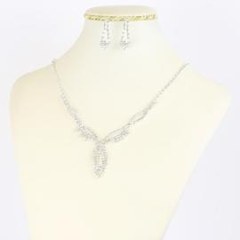 Komplet biżuterii dżetowej - KOM377