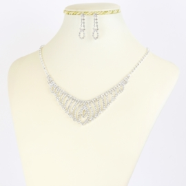 Komplet biżuterii dżetowej - KOM378