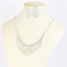 Komplet biżuterii dżetowej - KOM379