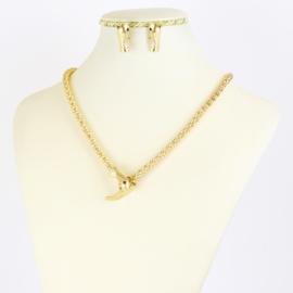 Komplet biżuterii snake - KOM396