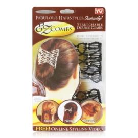 Spinki ozdobne do podpinania włosów 2pak OS897