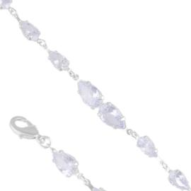 Bransoletka czeskie kryształy BCZ-9 BRA3331