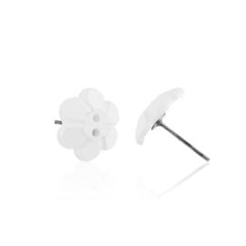 Kolczyki sztyfty kwiatuszki 1,5cm EA3722