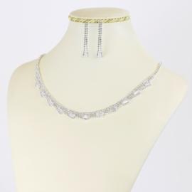 Komplet biżuterii wieczorowej - KOM398