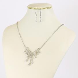 Komplet biżuterii dżetowej - KOM401