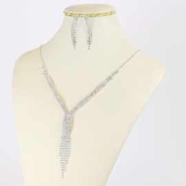 Komplet biżuterii dżetowej - KOM404