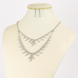 Komplet biżuterii dżetowej - KOM408