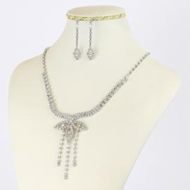 Komplet biżuterii dżetowej - KOM409