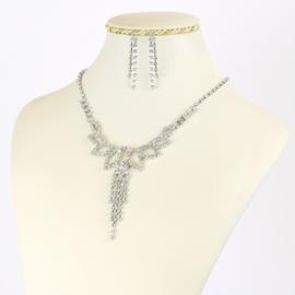 Komplet biżuterii dżetowej - KOM410