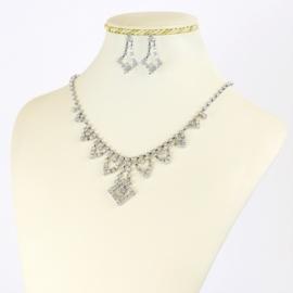Komplet biżuterii dżetowej - KOM411