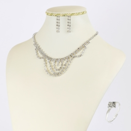 Komplet biżuterii dżetowej - KOM412