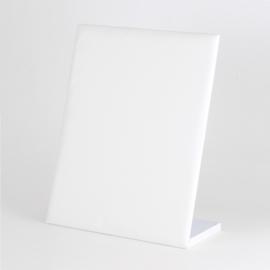 Ekspozytor stojak na kolczyki biały 30par EKS125