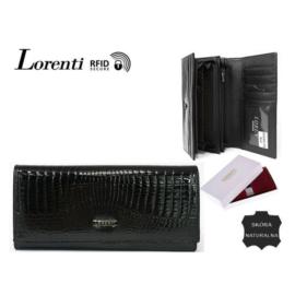 Portfel damski skórzany V-55288-RS Black - P1347