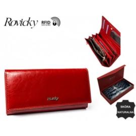 Portfel damski skórzany 8805-BPR Red - P1364