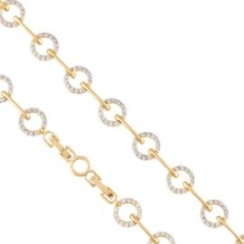 Bransoletka z kryształkami Xuping BP7852