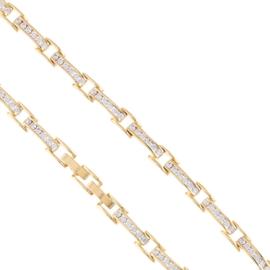 Bransoletka codzienna z kryształkami Xuping BP7892