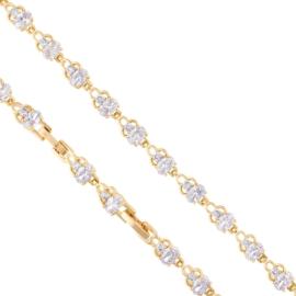 Bransoletka codzienna z kryształkami Xuping BP7896