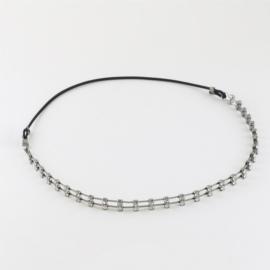 Opaski z kryształkami czeskimi na gumce - OPS818
