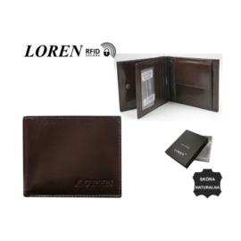 Portfel męski - RM-01-BCF/9592 BROWN - P1379