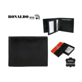 Portfel męski - RM-01-CFL BLACK - P1381