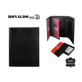 Portfel męski - RM-03-CFL BLACK - P1382