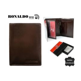 Portfel męski - RM-03-CFL/8267 BROWN - P1383