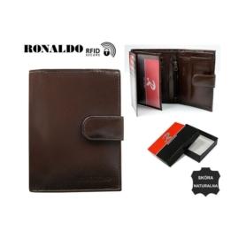 Portfel męski - RM-03L-CFL/8281 BROWN - P1386