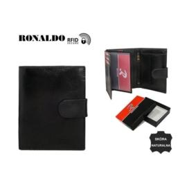 Portfel męski - RM-03L-CFL/8274 BLACK - P1387