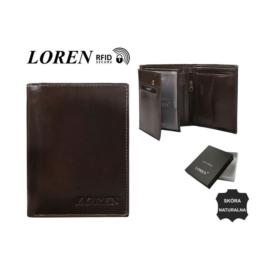 Portfel męski - RM-04-BCF/9714 BROWN - P1388