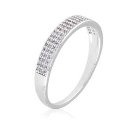 Obrączka z kryształkami Xuping PP3054